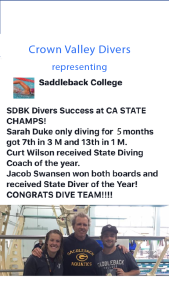 Saddleback Coach of the Year 2